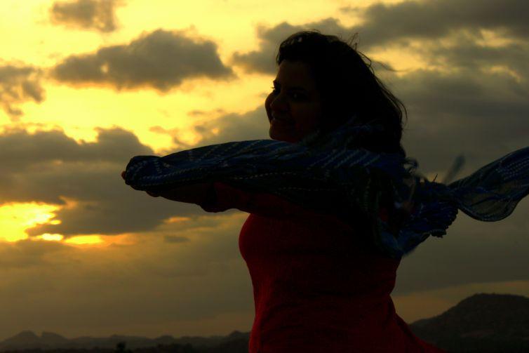 Solo women  travel India Hampi